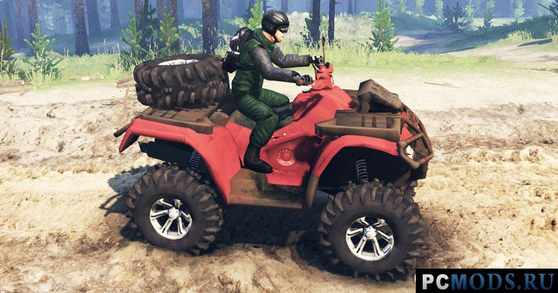 Polaris Sportsman 4x4 v3.0 для Spin Tires 2016