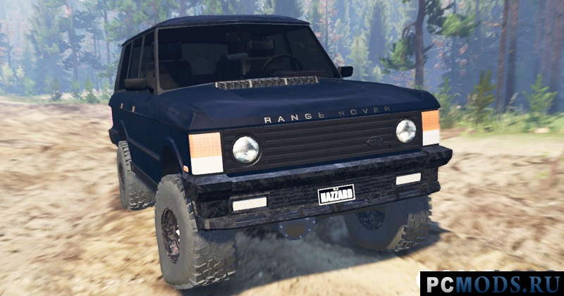 Range Rover Classic 1990 для Spin Tires 2016